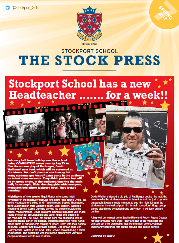 Stockport School - The Stock-Press — News Magazine